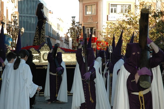 Nazareno procesión